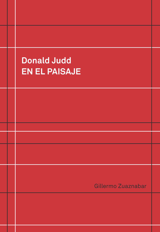 Donald Judd En El Paisaje