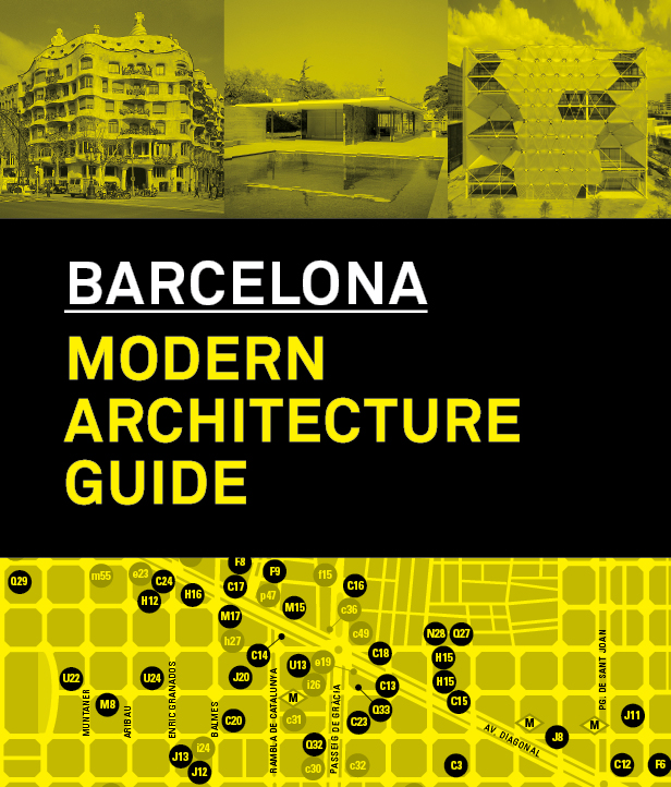 Barcelona Modern Architecture Guide (Spanish Edition)